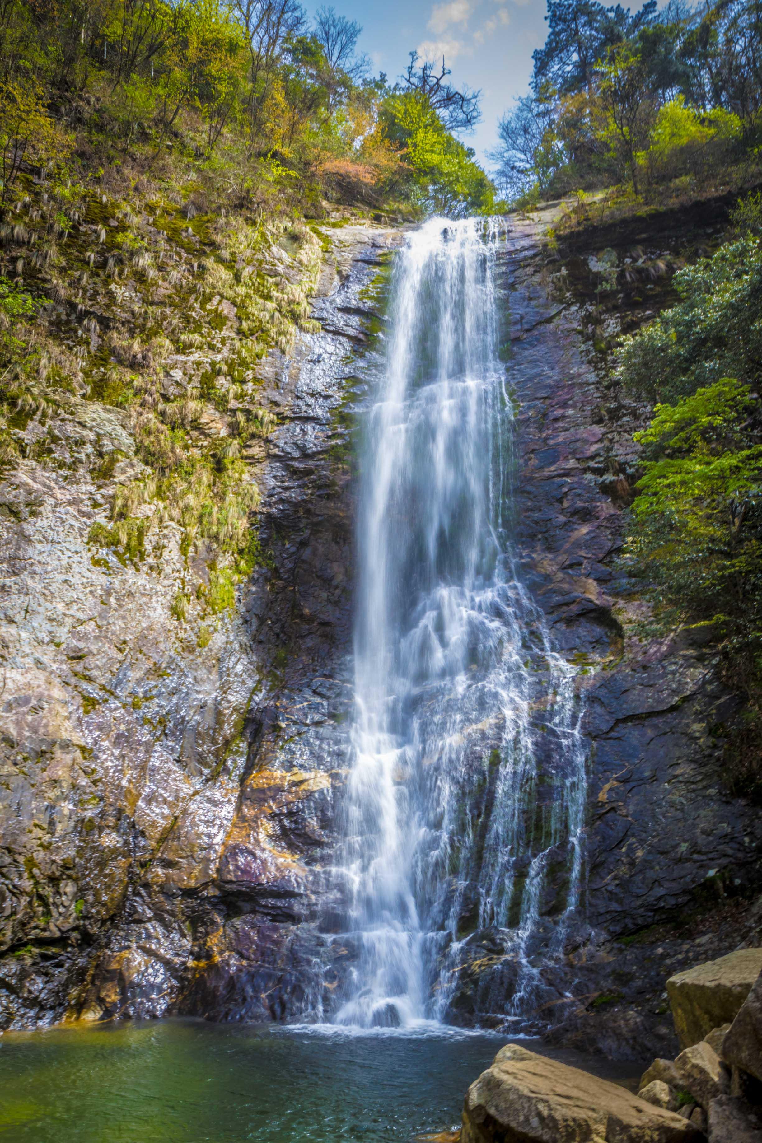 壁纸 风景 旅游 瀑布 山水 桌面 2449_3674 竖版 竖屏 手机